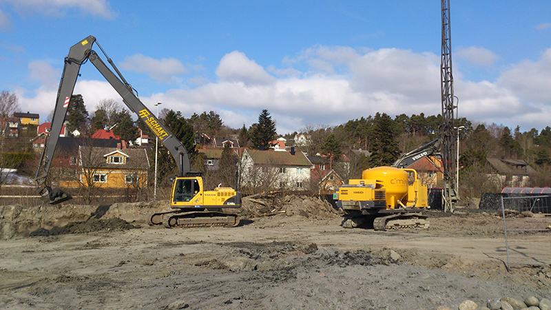 Jordschakt Fredrikstad Norge